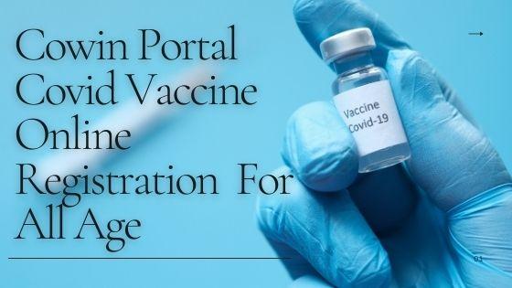 Covid-19 vaccine registration